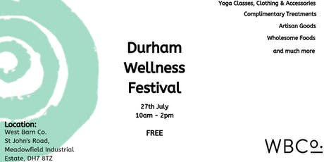Durham Wellness Festival tickets