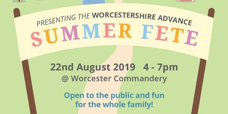 Traditional Summer Fete - Worcestershire Advance  tickets