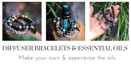 Gemstone Diffuser Bracelet Workshop & Essential Oils for Managing Emotions tickets