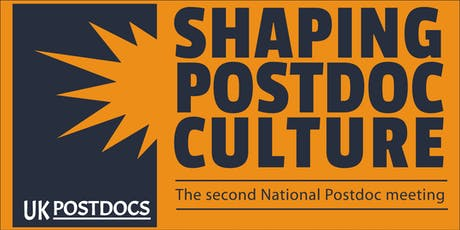 Shaping Postdoc Culture - The Second National Postdoc Meeting tickets