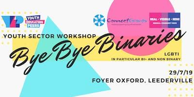 Bye Bye Binaries - FREE Youth Sector Workshop