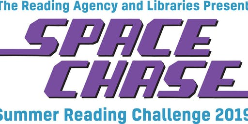 Newent Library- Summer Reading Challenge - Space Chase Bedtime Story Time