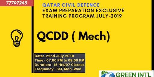 QCDD Exam Preparation Training Program July 2019