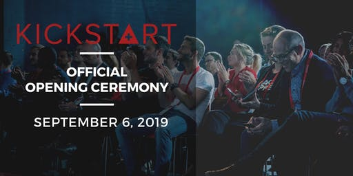 Official Opening Ceremony Kickstart 2019