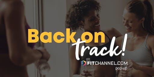 Back on Track met Fitchannel.com (pop-up workouts)