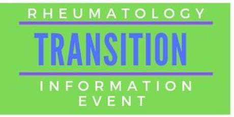 Rheumatology Transition information event  tickets