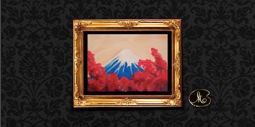 Sip & Paint: Fuji Mountain