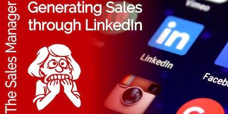 Generating Sales Through LinkedIn  tickets