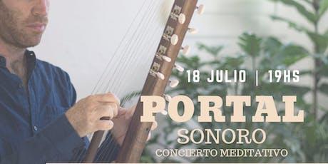 Portal Sonoro - Concierto meditativo entradas