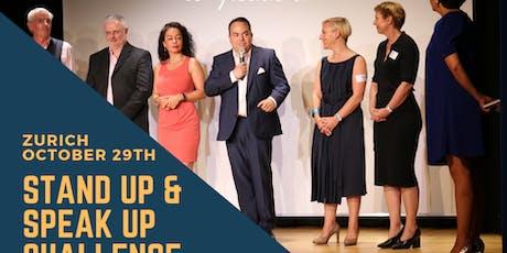 Stand Up & Speak Up Challenge tickets