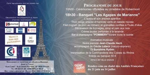 14.07 - Fête Nationale Française à Liège - Soirée de Gala