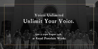 Unlimit your Voice - Singing Workshop