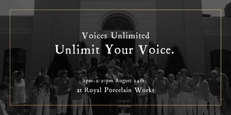 Unlimit your Voice - Singing Workshop tickets