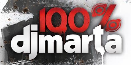 100 % Dj Marta 2019 entradas