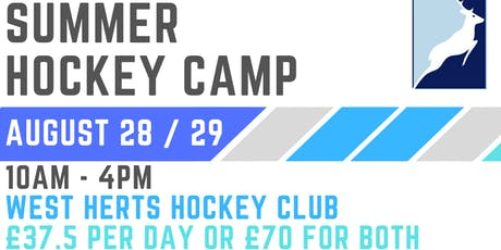 West Herts Hockey Club Summer Camp 2019 tickets
