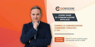 CORSO BASE DI COMUNICAZIONE EFFICACE