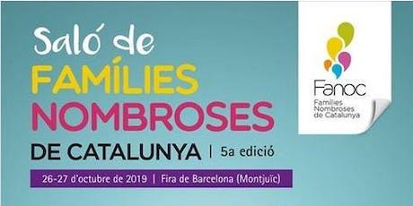 Saló de Famílies Nombroses de Catalunya (5a edició) tickets