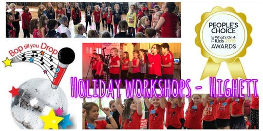 2019 October Bop till you Drop School Holiday Workshop - HIGHETT Performance Workshop for Children (2 days) BOOK EARLY AND SAVE!