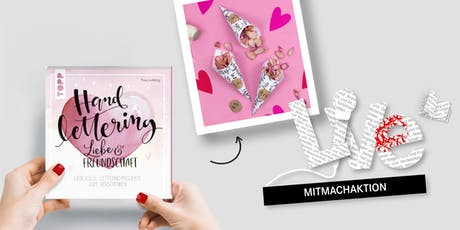 MITMACHAKTION: Kunstvolles Handlettering Tickets