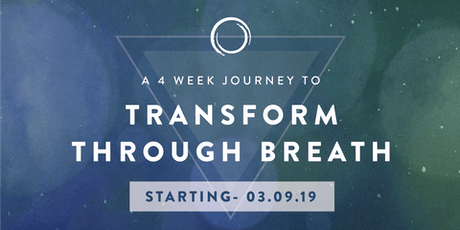 Transform through Breath - 4 week Program tickets
