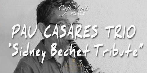 """Música Jazz en directo: PAU CASARES TRIO """"Sidney Bechet Tribute"""""""