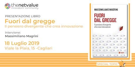 FUORI DAL GREGGE Presentazione del libro di Massimiliano Magrini biglietti