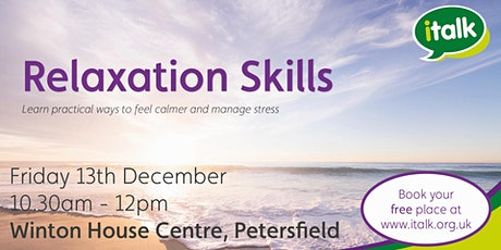 Relaxation Skills - Petersfield tickets