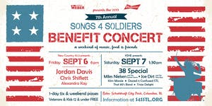 2019 Songs4Soldiers Annual Benefit Concert