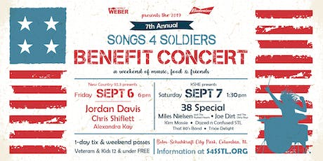 2019 Songs4Soldiers Annual Benefit Concert tickets
