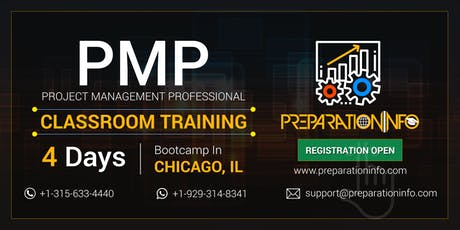 PMP Classroom Training & Certification Program in Chicago, Illinois tickets