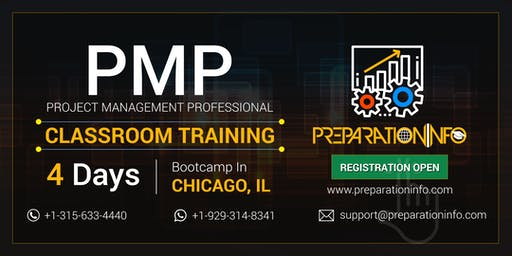 PMP Classroom Training & Certification Program in Chicago, Illinois