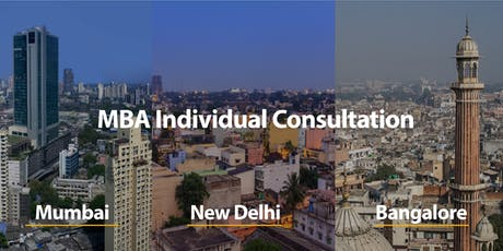 CUHK MBA Individual Consultation in Bangalore tickets