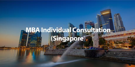 CUHK MBA Individual Consultation in Singapore tickets