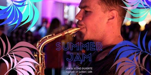 Summer jam & scène ouverte