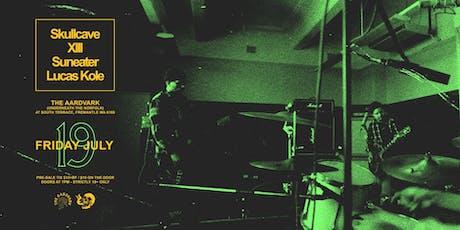 Skullcave play The Aardvark tickets