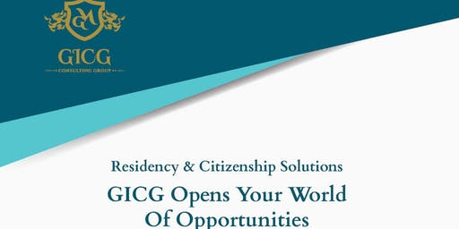 GICG Citizenship/Residency Roadshow in Bengaluru