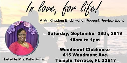 In Love For Life - A MKB Pageant Preview Event