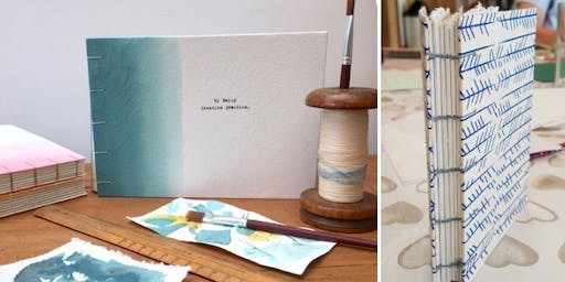 Handmade Bookbinding Notebook Workshop