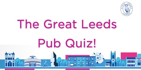 The Great Leeds Pub Quiz tickets