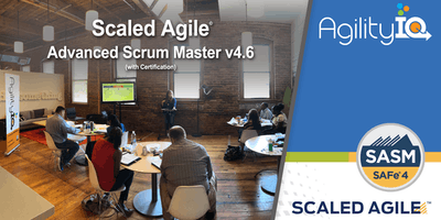 SAFe Advanced Scrum Master (4.6) with Certification