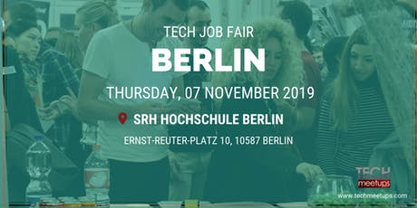 BERLIN TECH JOB FAIR AUTUMN 2019 tickets
