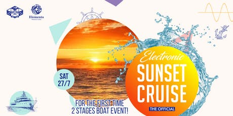 Electronic Sunset Cruise #5 Special Edition tickets