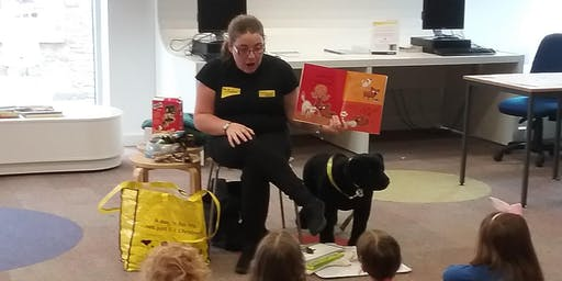 Tewkesbury Library - Storytime with the Dogs Trust