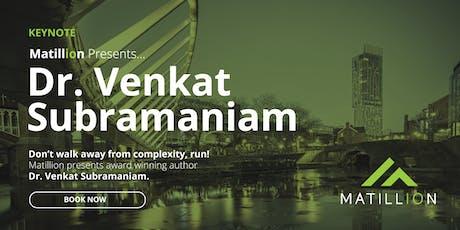 Matillion Presents... Dr. Venkat Subramaniam tickets