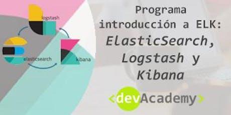 [Formación] Programa introducción a ELK: ElasticSearch, Logstash y Kibana entradas