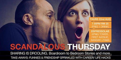Scandalous Thursday