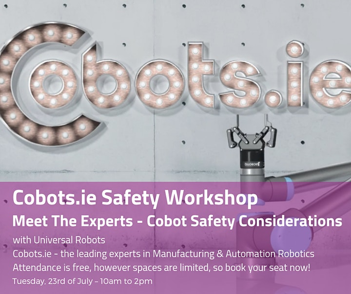 Cobots.ie Safety Workshop image
