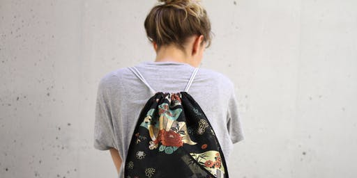Sewing your own bag from antique Japanese textiles