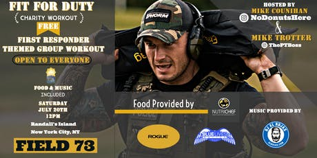 Fit for Duty Charity Workout tickets