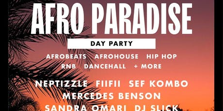 Afroparadise - 1st UK Day Party tickets